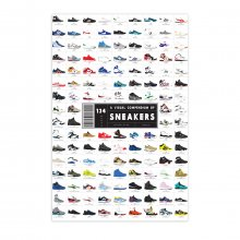 Poster A Visual Compendium of Sneakers