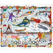 Bild James Rizzi – Nagano in 98
