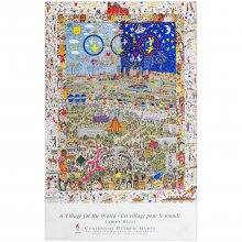 Poster James Rizzi – A Village For The World