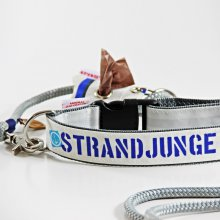 Hundehalsband-Set Strandjunge