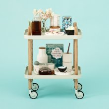 Servierwagen Block Table mint