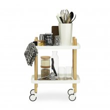 Servierwagen Block Table weiß