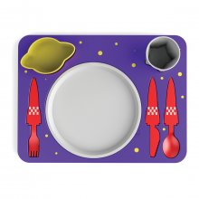 Kindergeschirr-Set Space Dinner Set