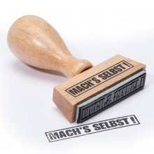 stempel machs selbst. Black Bedroom Furniture Sets. Home Design Ideas