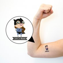 Tattoo Super Cat Woman