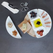 Tablett-Set Spun Lazy Susan