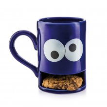 Keks-Becher Mug Monster blau