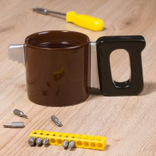 Thumbs Up Tasse Saw Mug