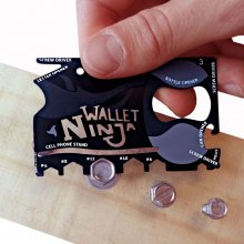 Thumbs Up Wallet Ninja 18-in-1 Multi-Tool Classic