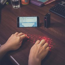 Thumbs Up Laser Keyboard+