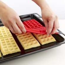 Waffel Backform 2er Set