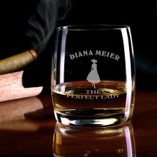 Personalisierbares Whiskyglas Perfect Lady