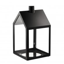 Windlicht Light House schwarz