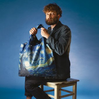 Shopper-Einkaufstasche The Starry Night