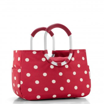 Loopshopper M ruby dots
