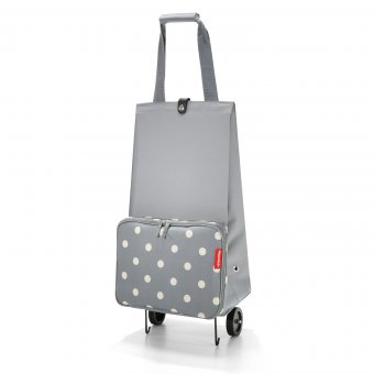 Foldable Trolley grey dots