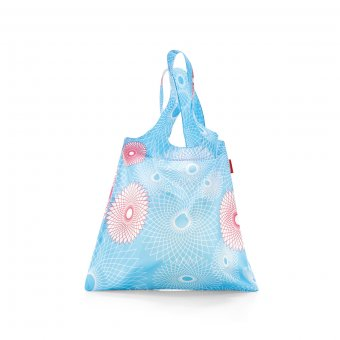 Mini Maxi Shopper crystals light blue