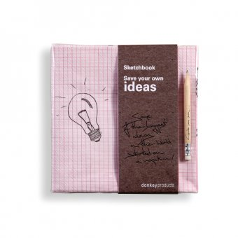Servietten Sketchbook Save Your Own Idea