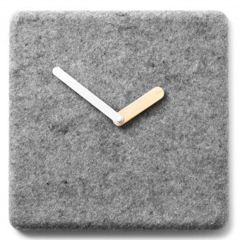 Wand-Element Felt Panel Uhr