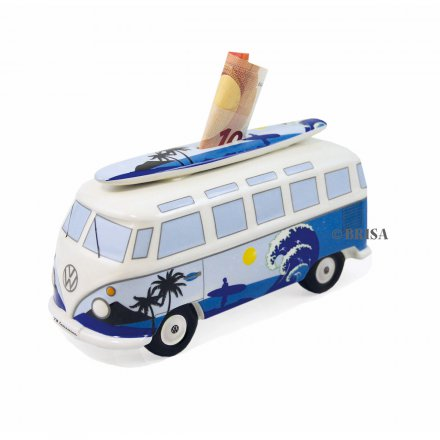 Spardose VW Bus mit Surfbrett Surf