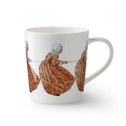 Design House Stockholm Elsa Beskow Tasse mit Henkel 40cl Aunt Brown
