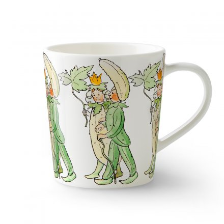 Design House Stockholm Elsa Beskow Tasse mit Henkel 40cl Mr & Mrs Cucumber