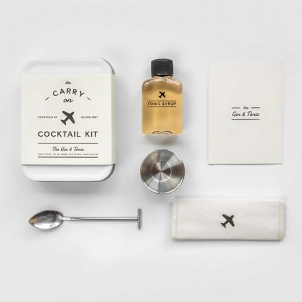 Carry on Cocktail Kit –Gin & Tonic