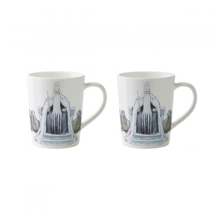 Design House Stockholm Elsa Beskow Espresso-Tassen 10cl 2er Set King Winter