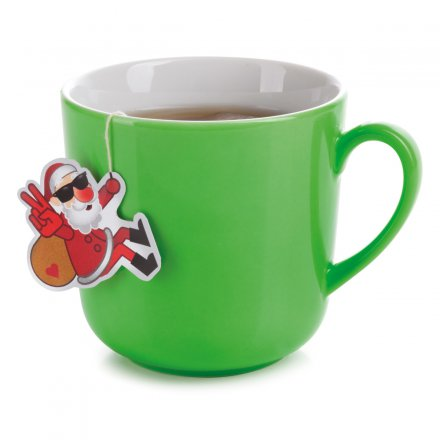 Donkey Products Teebeutel-Set Happy Tea Cool Santa