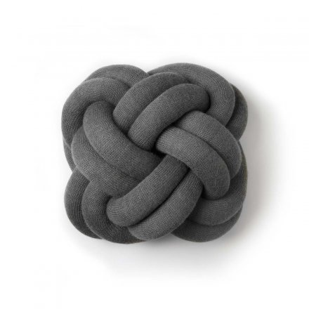 Design House Stockholm Kissen Knot grau