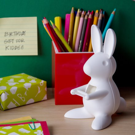 Qualy Klebestreifenabroller Desk Bunny Tape Dispenser