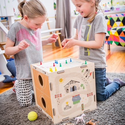 Donkey Products Spielewürfel/Hocker Kids Qube