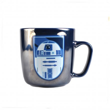 Becher Metallic R2D2