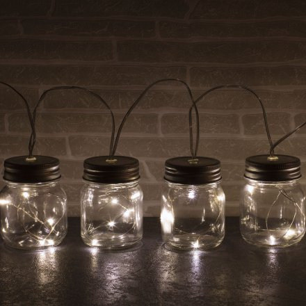 Thumbs Up LED Lichterkette Jar String Lights