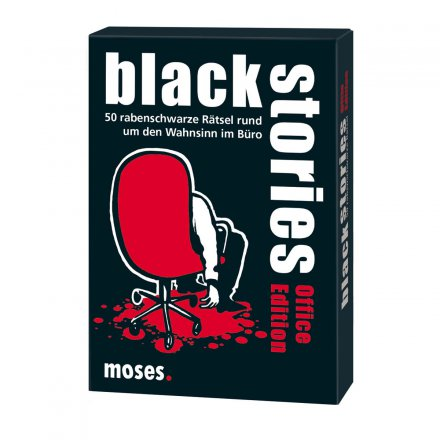moses. Verlag black stories - Office Edition