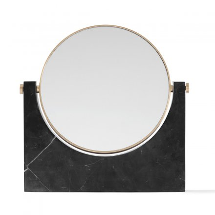Menu Kosmetikspiegel Pepe Marble Mirror brass, black