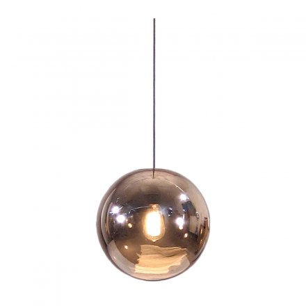 HKliving Deckenlampe Ball Lamp Copper