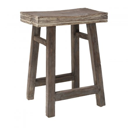 HKliving Hocker Teak natur