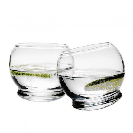 Normann Copenhagen Wackelglas Rocking Glass 4er-Set