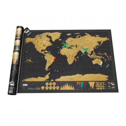 Weltkarte Scratch Map Deluxe