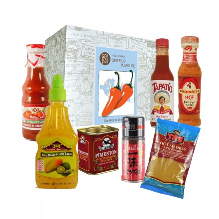 Cosmopol Geschenkbox Spice Up Your Life