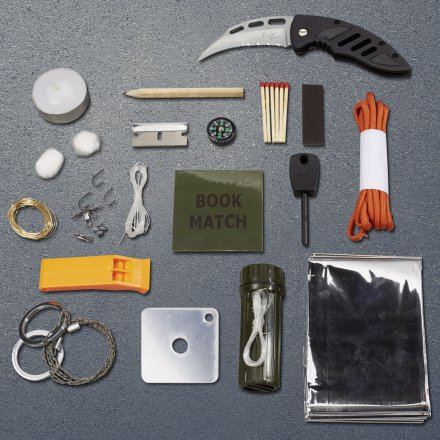 DMAX Survival Kit - 15 Tools