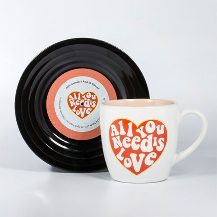 Thumbs Up Tassen-Set Lyrical Mug Love