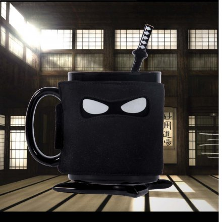 Thumbs Up Tasse Ninja Mug