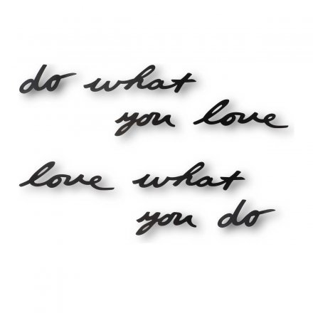 Umbra Wanddekoration Mantra do what you love