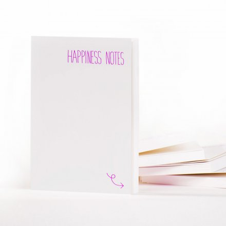 Notizbuch Happiness Notes