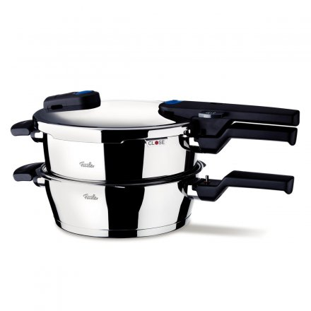 fissler vitaquick schnellkoch set 2 tlg 22cm 2 5 4 5 liter online kaufen. Black Bedroom Furniture Sets. Home Design Ideas