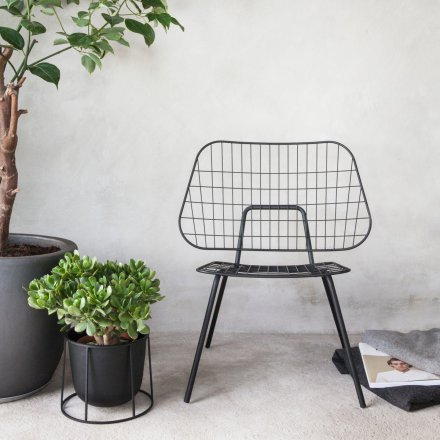 Menu Stuhl WM String Lounge Chair