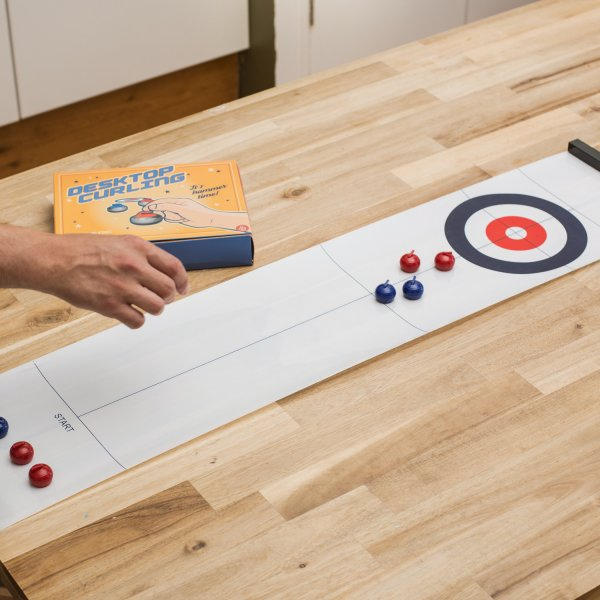 Thumbs Up Tischspiel Desktop Curling