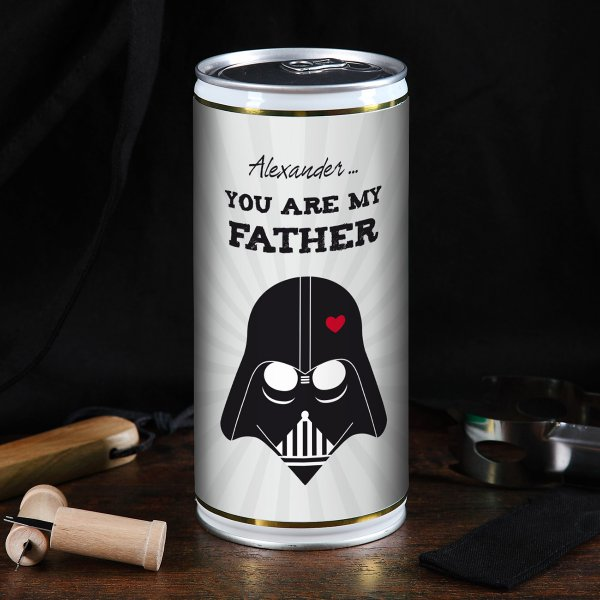 Personalisierbare 1L-Bierdose You are my Father